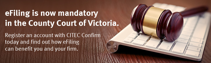 Mandatory eFiling is coming to the County Court of Victoria